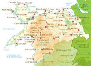 Headstones North Wales