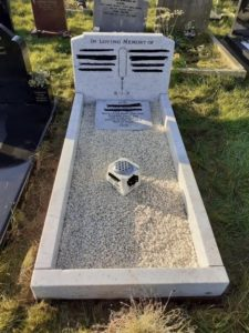 After Headstone Clean